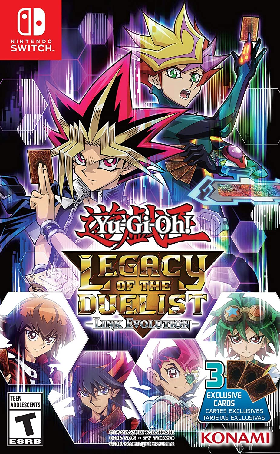 Yu-Gi-Oh! Legacy of the Duelist Link Evolution for Nintendo Switch ...