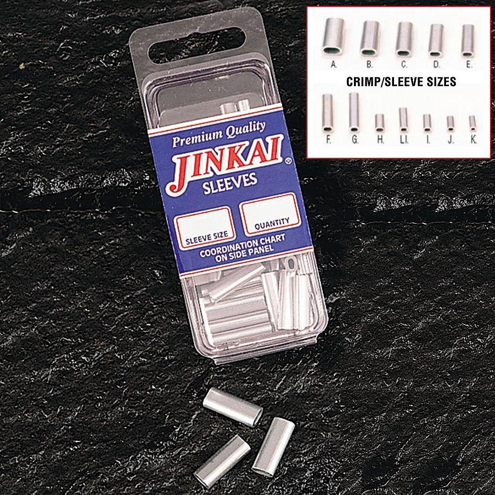 Jinkai Crimps – クリンプサイズ: Li – 120 – 150lb.テスト – 最大線直径: 1.04 – 1.17 MM – 500 PK。   B008RBSJMA