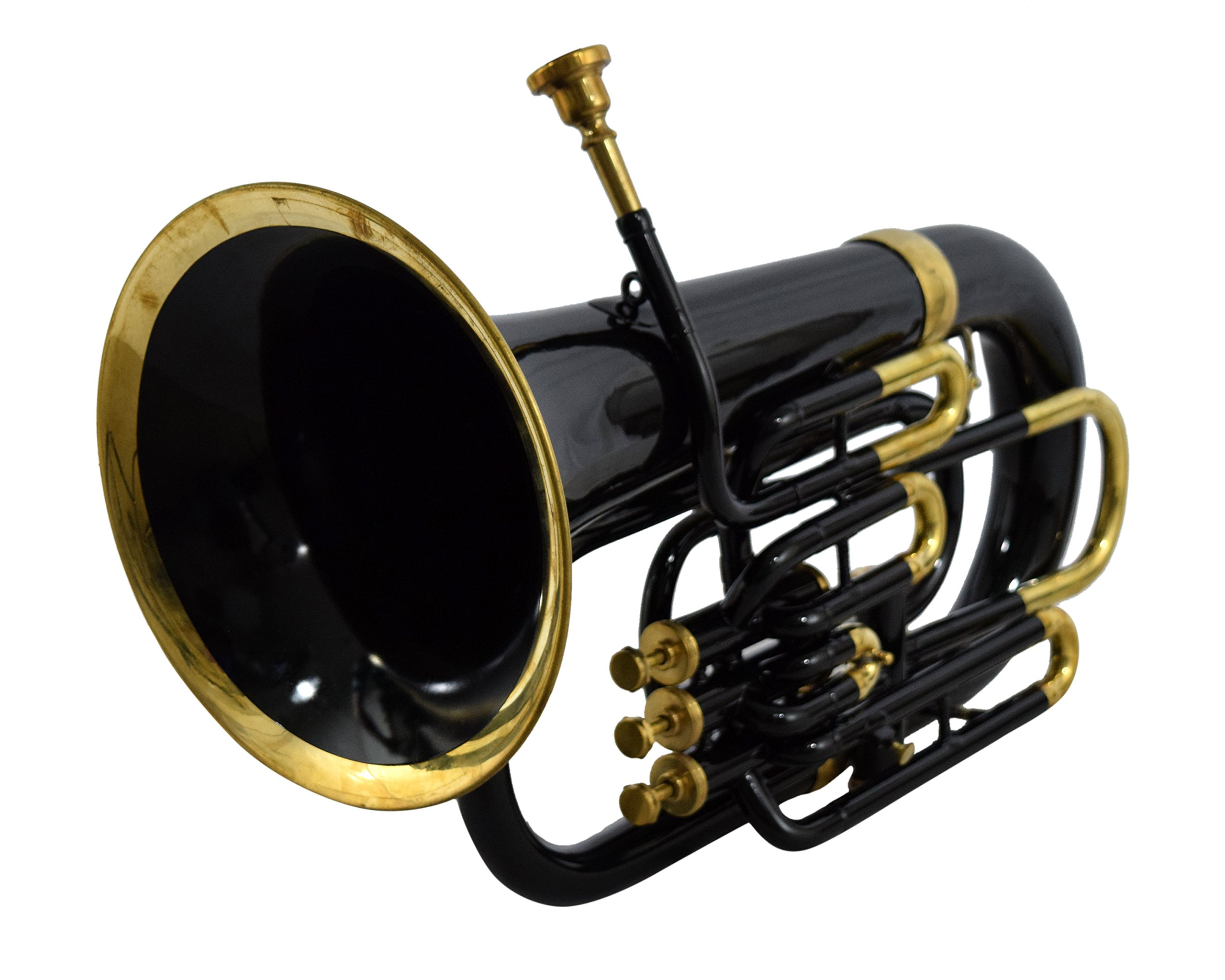 Moonflag Bb Euphonium Black 4 Valve by NASIR ALI