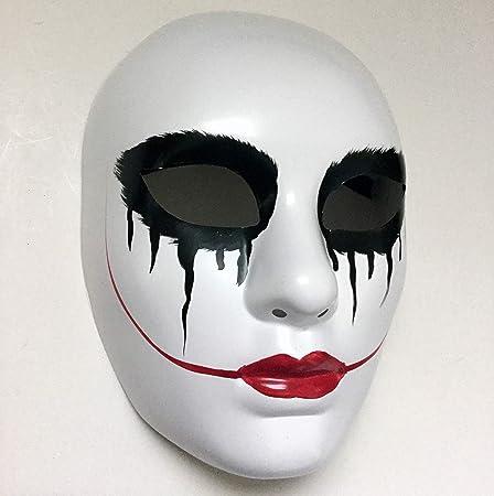 La máscara de purga Anarchy Movie Labios Rojos Mujer Máscara ...