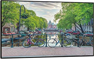 product image for Amsterdam By Assaf Frank Poster Print (36x24) (Black Plaque/Woodmount)