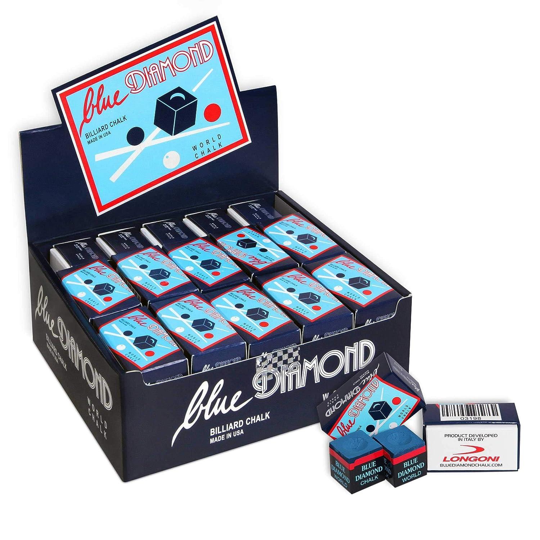 50 pcs GENUINE 1 case BLUE DIAMOND CHALK by Longoni