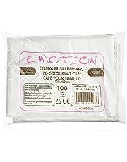 Efalock Emotion - Capa de peluquería (desechable, 1 x 100 unidades), diseño