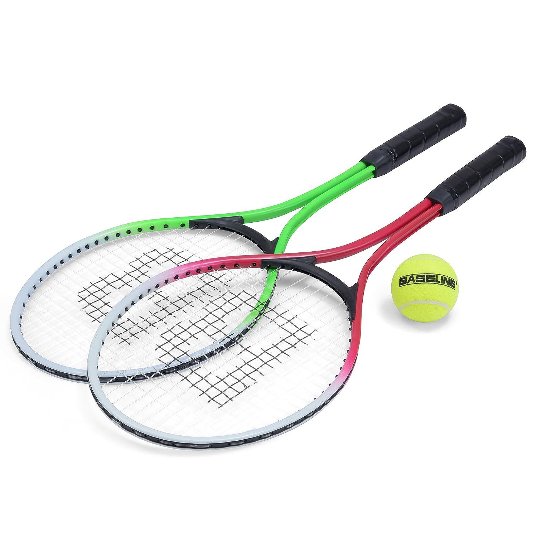 Tennis-Set 2 Junior Tennis Schl/äger Squash