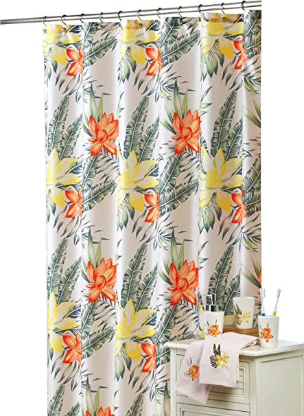 Carol wright gifts tropical breeze shower curtain