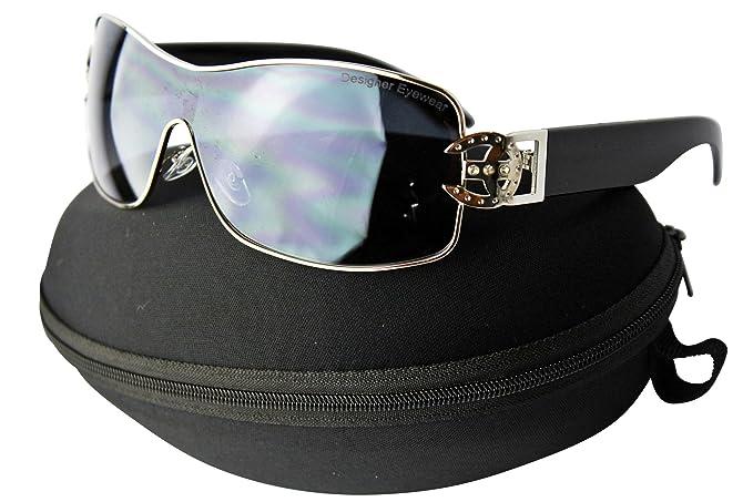 Amazon.com: d1068-cc Diseñador Womens Rhinestone anteojos de ...