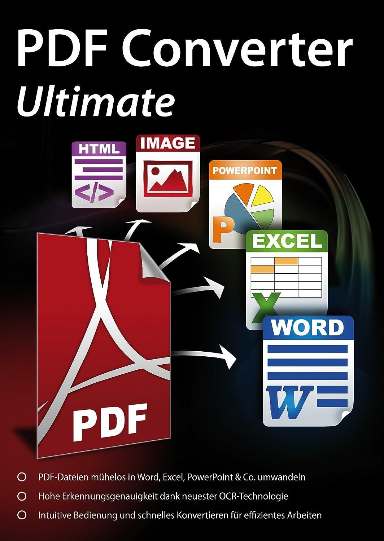 PDF Converter Ultimate - PDFs umwandeln und bearbeiten in Word ...