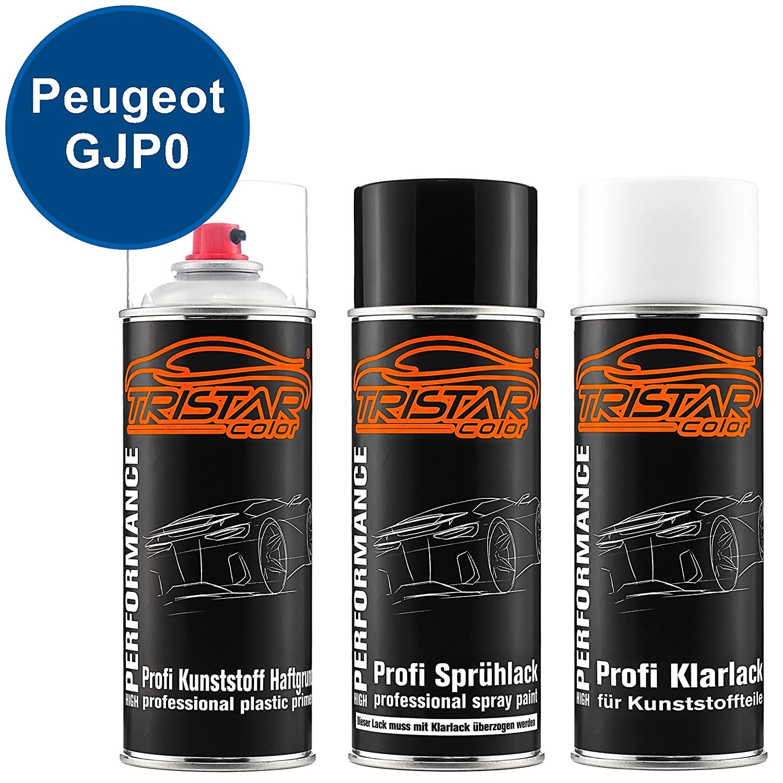 Tristarcolor Auto Spray Paint Cans Set For Plastic Bumper