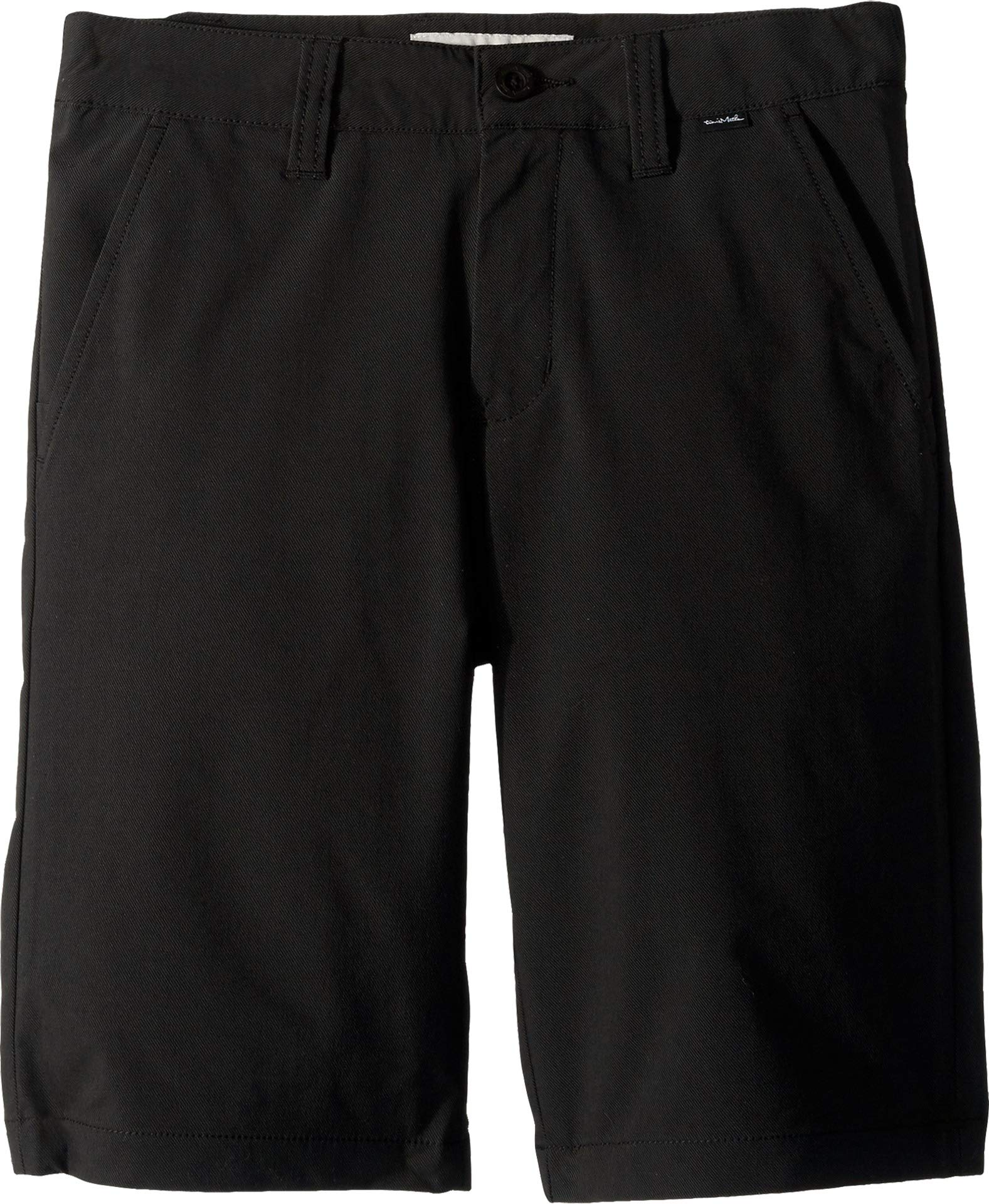 TravisMathew Boys J-Hef Flex Golf Shorts, Black, Large