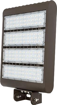 5000 Kelvin 120-277 vol DLC Listed Small LED Flood Light 15 watt 1,500 lumen