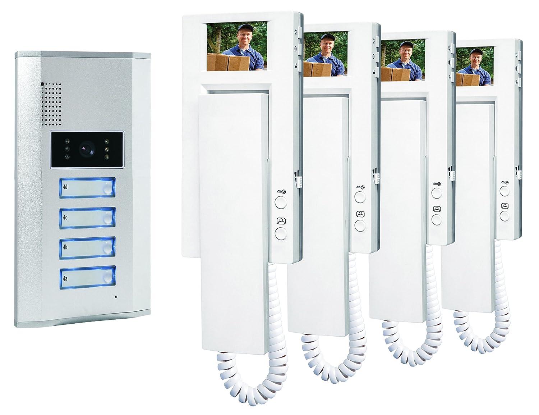 Smartwares VD64 SW 10.007.57 Portier vidéo couleur/Visiophone ...