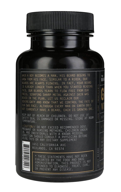 Beard Growth Vitamins | The Beard Club | #1 Selling Beard & Hair Growth  Supplement in America | Get a