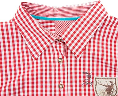 OS - Blusa de manga larga para mujer, Oktoberfest, color rojo ...