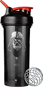 BlenderBottle C04346 Star Wars Pro Series 28-Ounce Shaker Bottle, Darth Vader Helmet