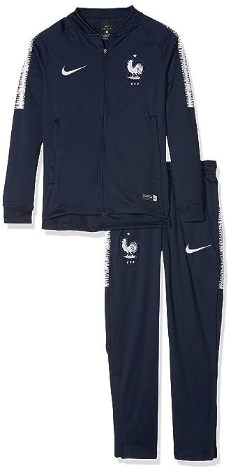 Amazon.com: Nike 2018 – 2019 Francia seco Chándal Squad ...