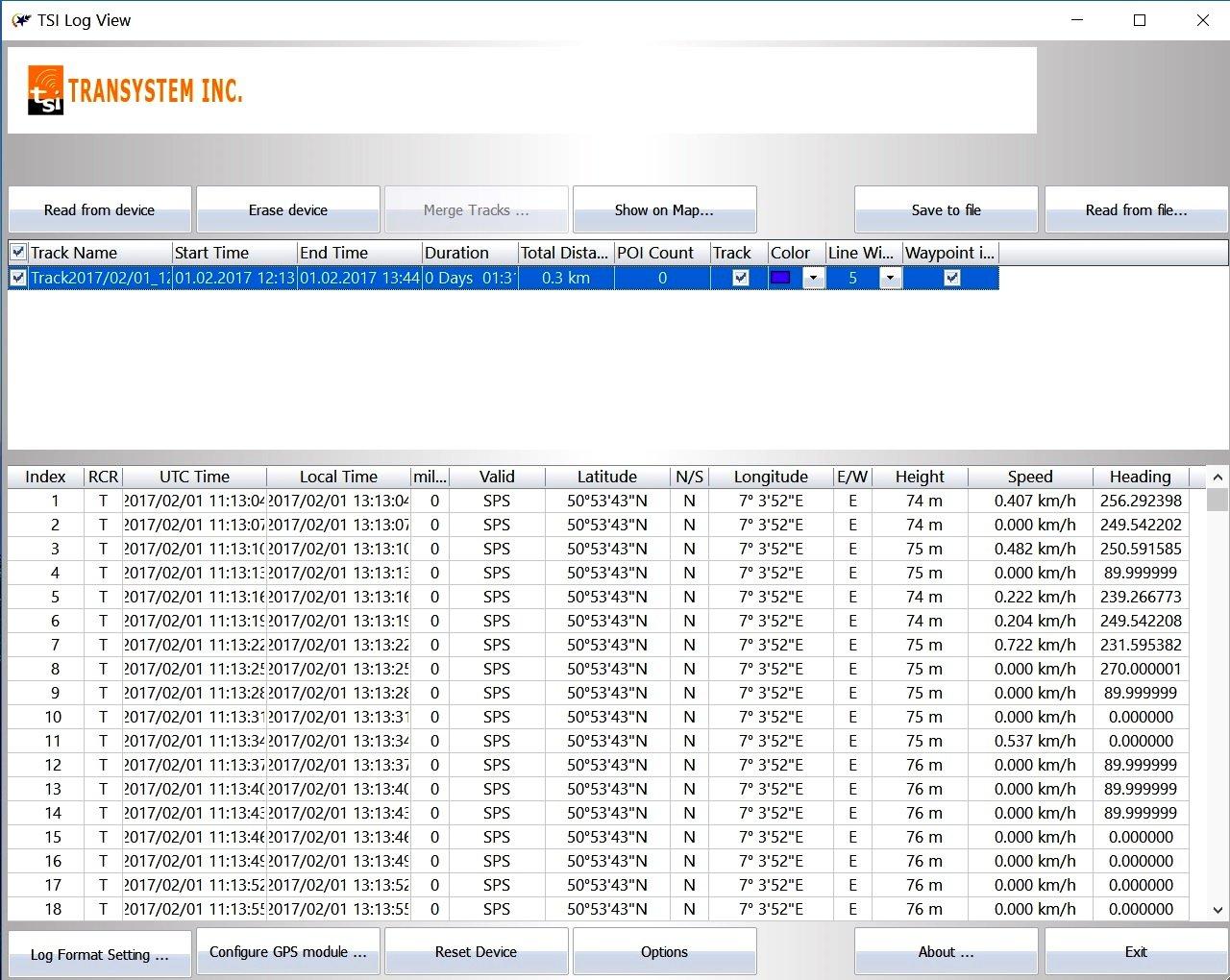 GPS/ GLONASS GL-770 professioneller GNSS Logger Set mit Netzteil