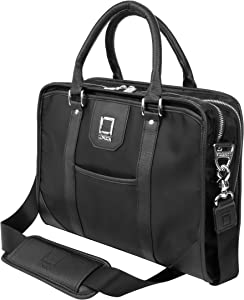 Premium 13 13.3 13.5 Inch Laptop Messenger Shoulder Bag Briefcase for Business Fits MacBook Pro Air Surface Book iPad Pro 12.9 13 Inch Acer Asus Dell HP Lenovo Samsung Chromebook Notebook