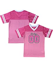Green Bay Packers Logo  00 Pink Dazzle Girls Youth Jersey 66347ca9e