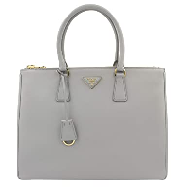Image Unavailable. Image not available for. Color  PRADA Saffiano Lux  Galleria Granito Leather Ladies Tote 1BA786NZV 3a22673994807