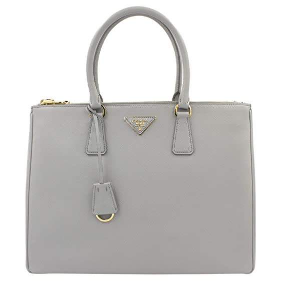 d0d2ce6dba6d PRADA Saffiano Lux Galleria Granito Leather Ladies Tote 1BA786NZV:  Amazon.co.uk: Clothing