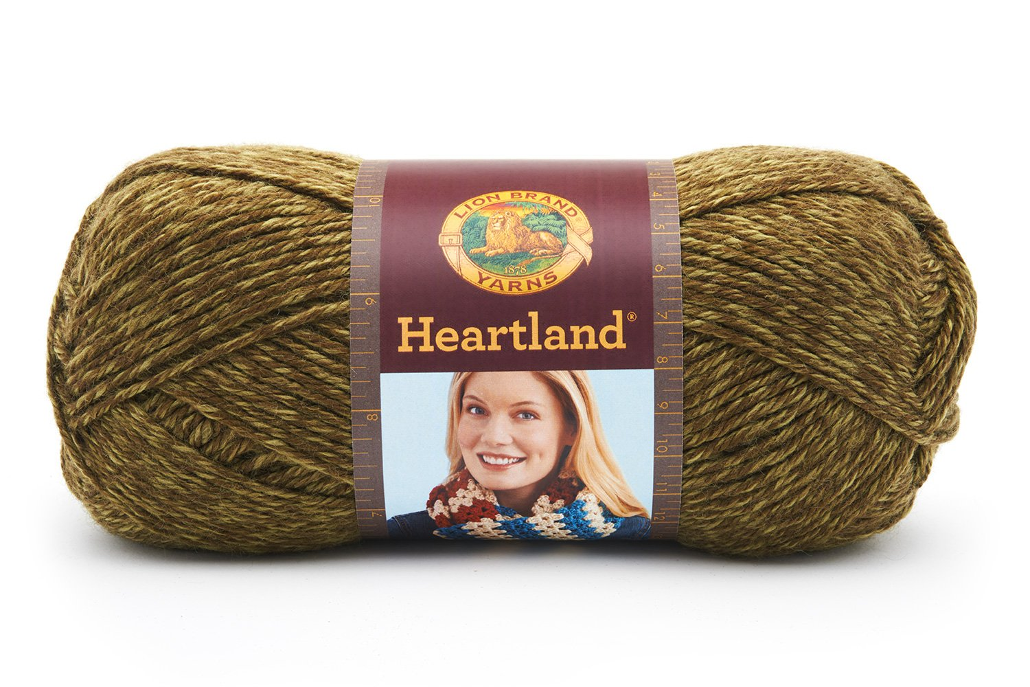 Amazon.com: Lion Brand Yarn 136-174 Heartland Yarn, Joshua Tree