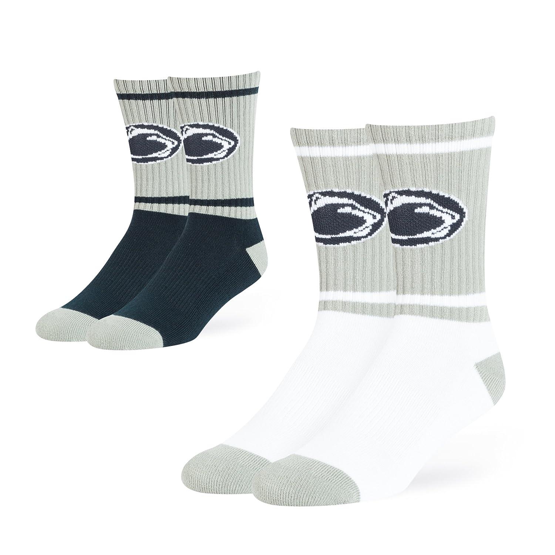 OTS NCAA Adult Mens NCAA Dasher Sport Sock 2-Pack