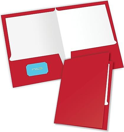 Amazon new generation red 2 pocket folder durable heavy new generation red 2 pocket folder durable heavy duty uv glossy laminated business colourmoves