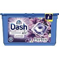 Dash 2en1 Perles Lessive en Capsules Lavande & Camomille 38Lavages