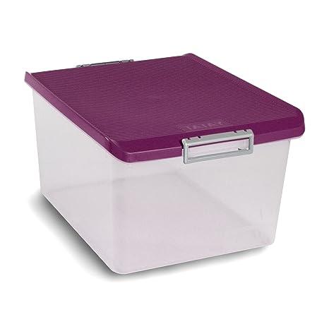 Tatay 1150020 Caja de Almacenamiento Multiusos con Tapa, 35 l de Capacidad, Plástico Polipropileno