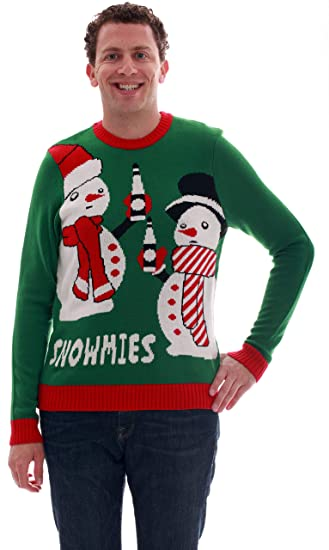 Blueberi Boulevard Mens Ugly Christmas Sweater - Sweaters for Men AMB55016-S at