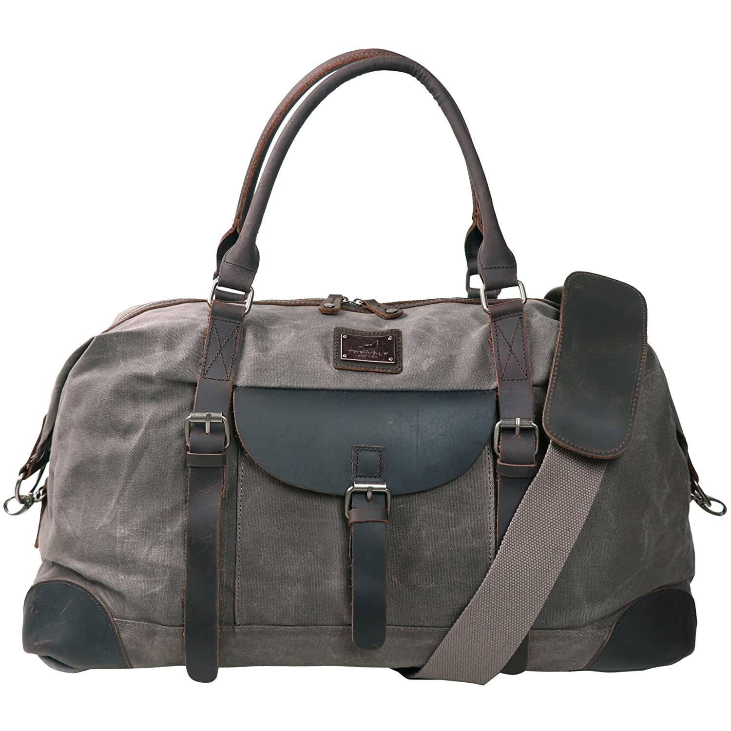 1827095912fe Canvas Duffel Bag TOPWOLFS 22