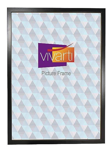 Thin Matt Black Box Picture Photo Frame, A2 Size, 59 4 x 42