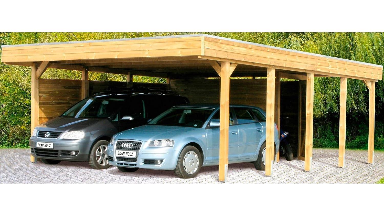 Skan Wood Carport Friesland 557 Kdi X 28 Cm Amazon Co Uk