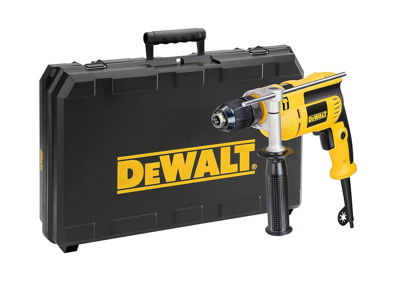 DeWalt DWD024KS-QS Taladradora de percusió n en maletí n de Transporte DWD024KS, 650 vatios, W, 230 V, Negro y Amarillo