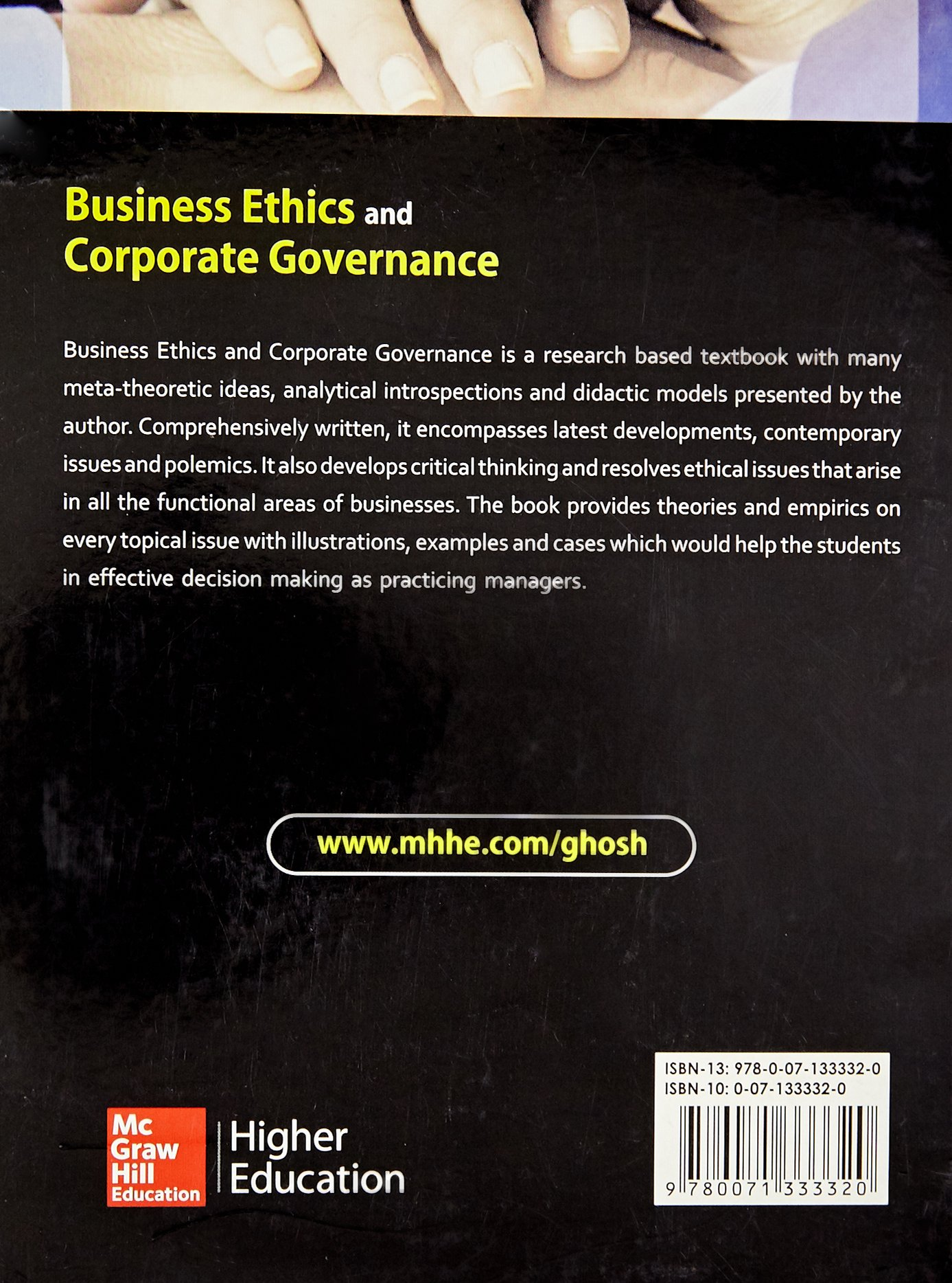 Buy Business Ethics and Corporate Governance Book Online at Low