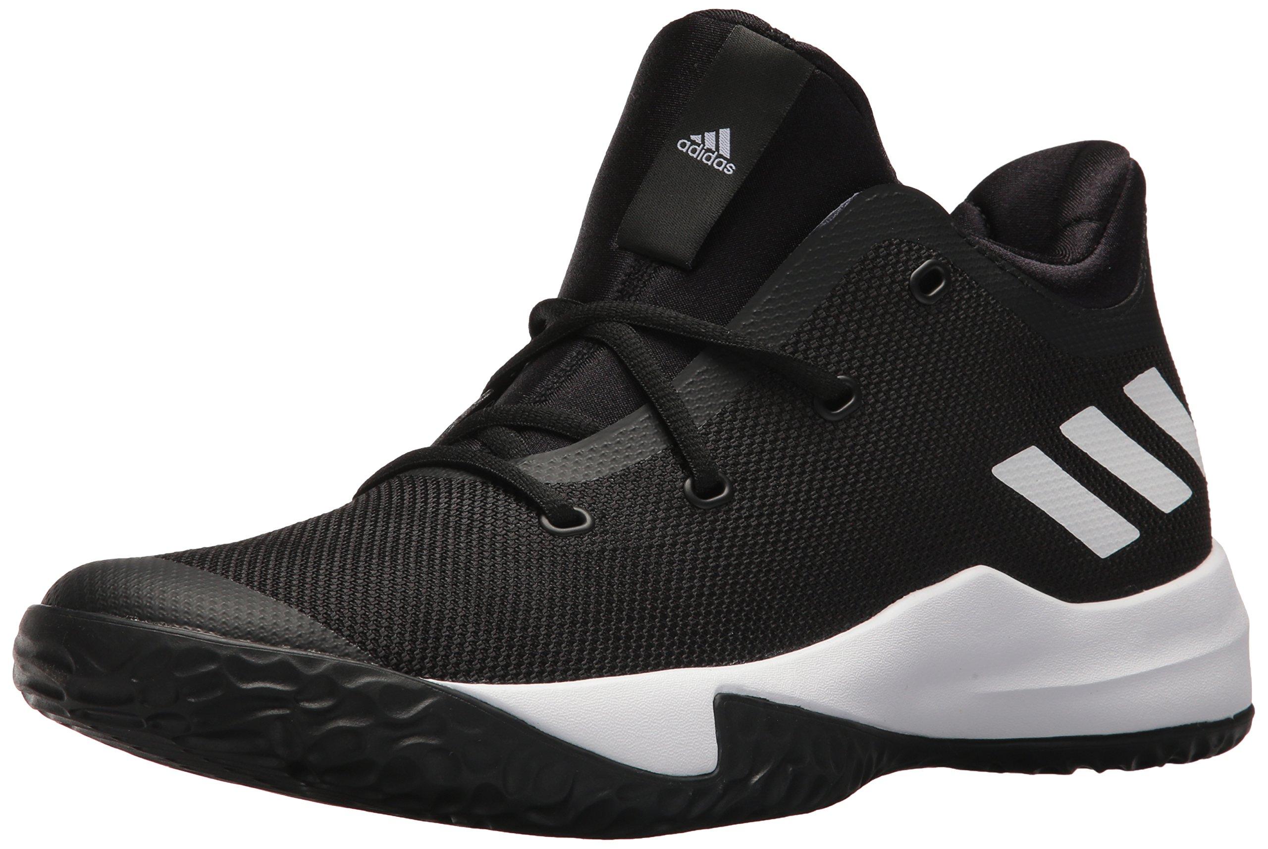 adidas Performance Men's Rise up 2 Basketball Shoe, White/White/White, 12 M US