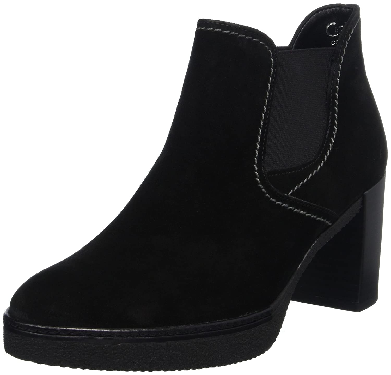 Gabor Shoes Comfort Fashion, Botas para Mujer39 EU|Negro (47 Schw.s.s/A.s/Mic)
