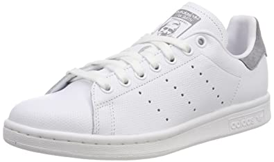 detailed look 14436 62ce1 adidas Stan Smith, Chaussures de Tennis Homme, Blanc FTWR WhiteGrey Three  F17