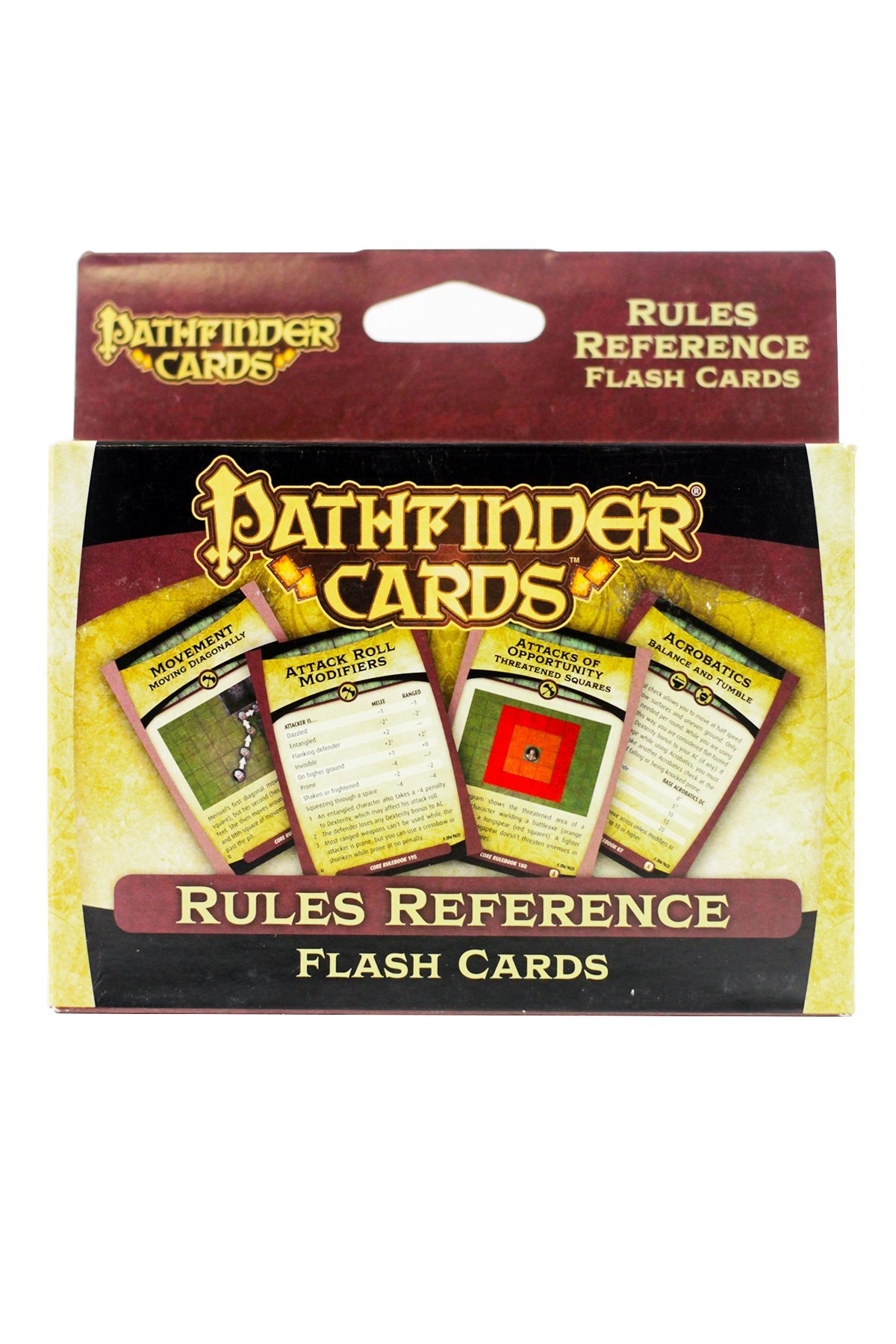 Pathfinder Cards: Rules Reference Flash Cards Double Deck by Paizo Inc.