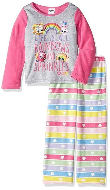 Amazon.com: Pijama de niña Shopkins, camiseta y ...
