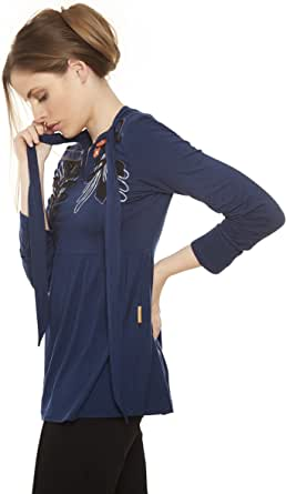 Mamatayoe Crepadona Blusa para Mujer