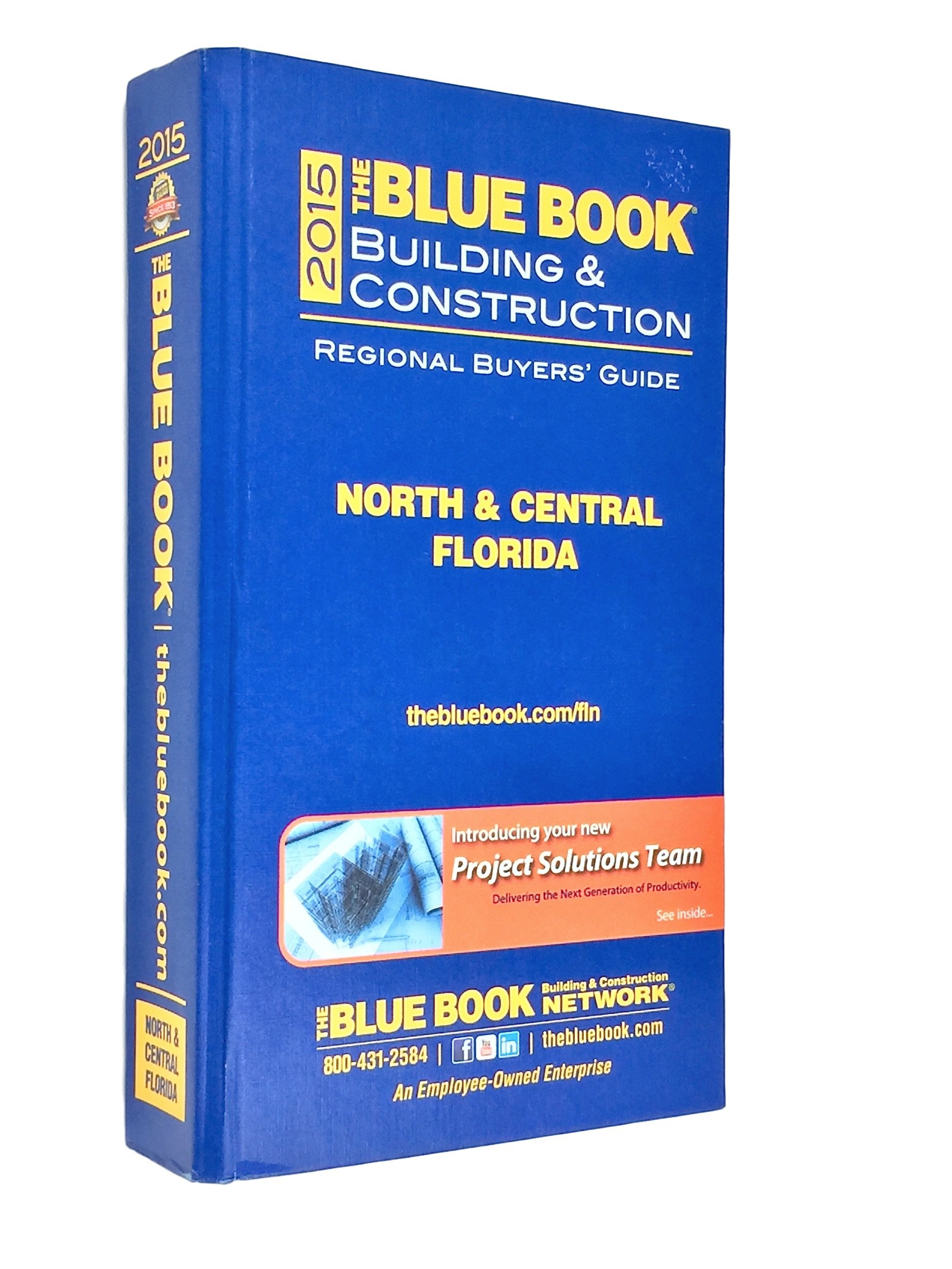 Construction Blue Book >> 2015 The Blue Book Building Construction Regional Buyers