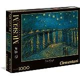 Clementoni - Puzzle de 1000 piezas, diseño Noche estrellada, Rodano (39344.2)