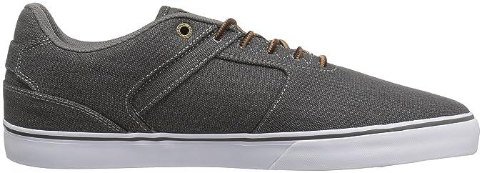 Emerica The Reynolds Low Vulc BK Wash, Chaussures de Skateboard Homme, Gris (Black Wash 014), 41 EU