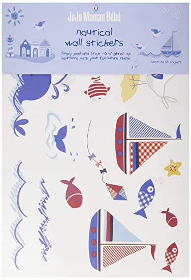 JoJo Maman Bebe Wall Stickers, Nautical Part 30