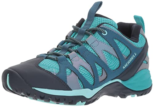 Siren Hex Q2, Zapatillas de Senderismo para Mujer, Azul (Baltic), 42 EU Merrell