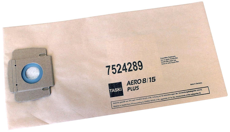 TASKI 7524289 Aero Suction Paper Bag (Pack of 10) Diversey