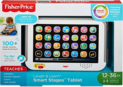 Fisher-Price Laugh Learn Smart Stages Tablet Toddler Child Boys Girls Toy Kids