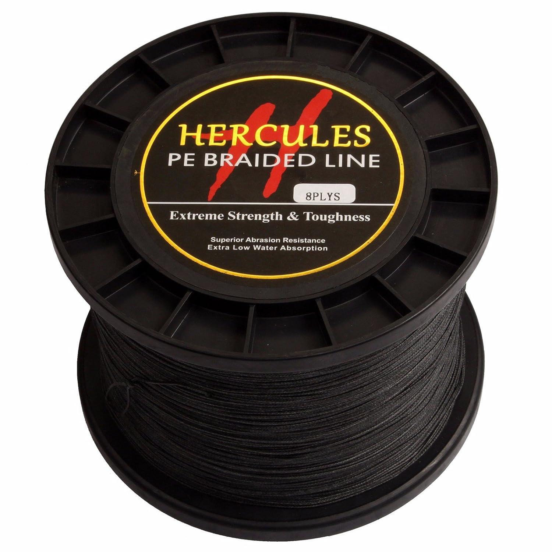 美品  1000 m 1094ydsブラック10lbs-300lbs m 200lb/90.7kg Hercules PE Dyneema編組釣りライン8ストランド Hercules B072MZ42B9 200lb/90.7kg 0.75mm, SEAS:7dace64e --- ciadaterra.com