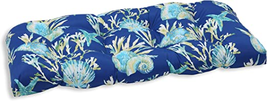 Pillow Perfect Outdoor//Indoor Daytrip Pacific Bench Cushion